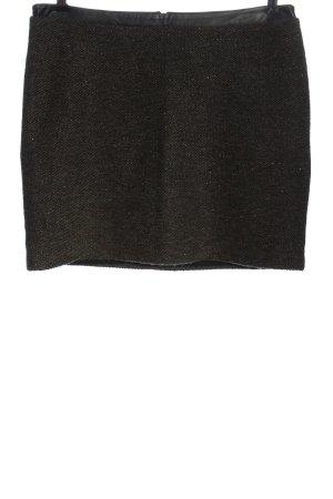 Esprit Minifalda caqui look efecto mojado
