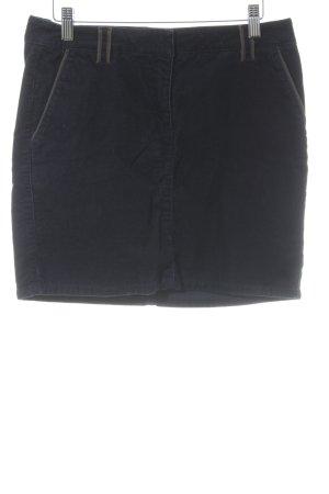 Esprit Minirock dunkelblau-graubraun Casual-Look