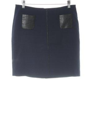 Esprit Minirock dunkelblau-schwarz schlichter Stil