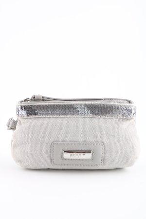 Esprit Minibolso gris claro-color plata look casual