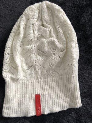 Esprit Sombrero de punto blanco puro