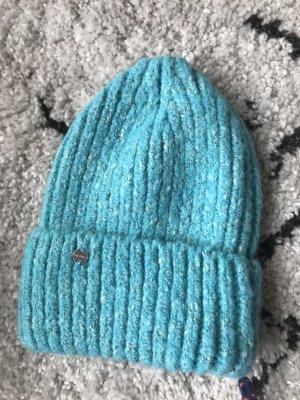 Esprit Cappello a maglia blu neon-blu fiordaliso