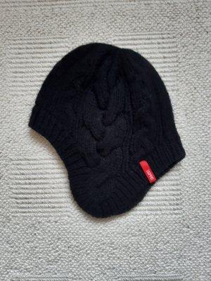 Esprit Chapeau en tricot noir