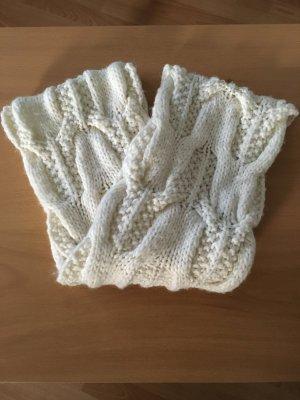 esprit collection Écharpe ronde blanc cassé laine