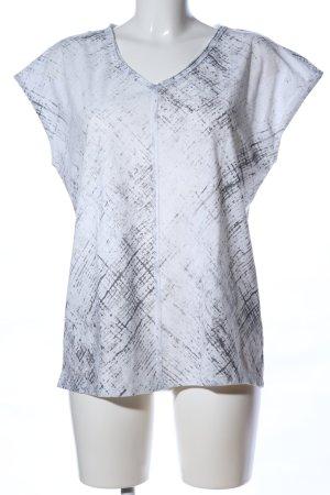 Esprit Camisa de tirantes para hombres blanco-gris claro look casual