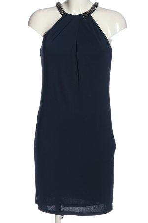 Esprit Vestido de cuello Halter azul elegante