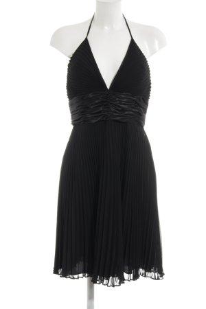 Esprit Vestido de cuello Halter negro elegante