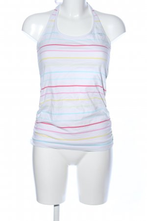 Esprit Halter Top white striped pattern casual look