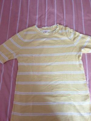 Esprit Camicia maglia bianco-giallo pallido