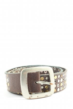 Esprit Studded Belt brown casual look