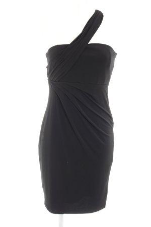 Esprit One-Shoulder-Kleid schwarz Elegant