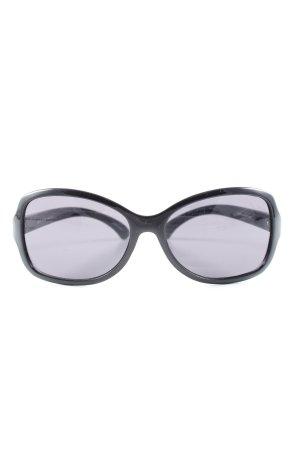 Esprit Ovale zonnebril zwart casual uitstraling