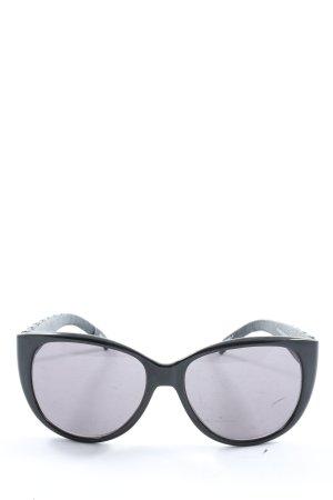 Esprit Gafas de sol ovaladas negro estampado acolchado look casual
