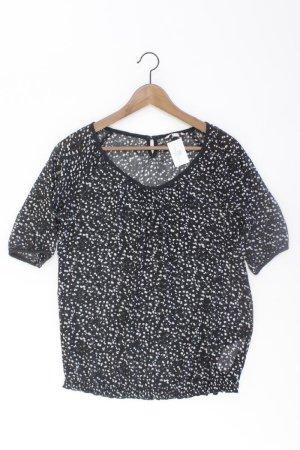 Esprit Oversize-Bluse Größe 36 3/4 Ärmel schwarz aus Polyester