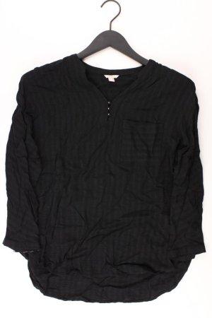 Esprit Oversize-Bluse Größe 36 3/4 Ärmel schwarz aus Viskose