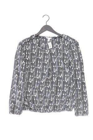 Esprit Oversized blouse zwart Polyester
