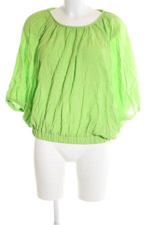 Esprit Oversized Bluse grün Casual-Look