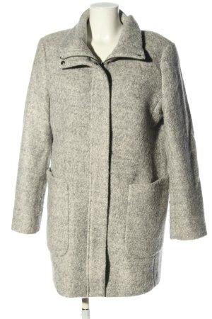 Esprit Oversized jas lichtgrijs gestippeld casual uitstraling