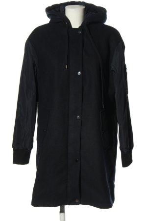 Esprit Oversized Mantel schwarz Casual-Look