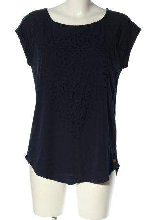 Esprit Oversized Shirt blau Casual-Look