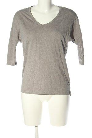 Esprit Oversized Shirt hellgrau meliert Casual-Look