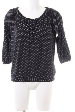 Esprit Oversized Shirt black-white spot pattern casual look