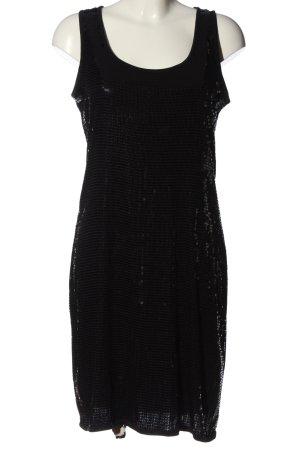 Esprit Sequin Dress black glittery