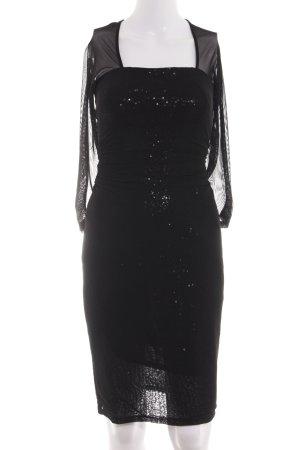 Esprit Robe à paillettes noir élégant