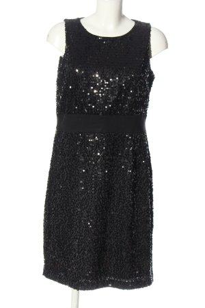Esprit Vestido de lentejuelas negro brillante