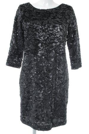 Esprit Pailettenkleid schwarz Elegant