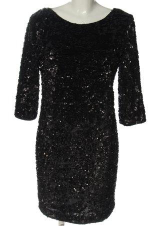 Esprit Robe à paillettes noir pailleté
