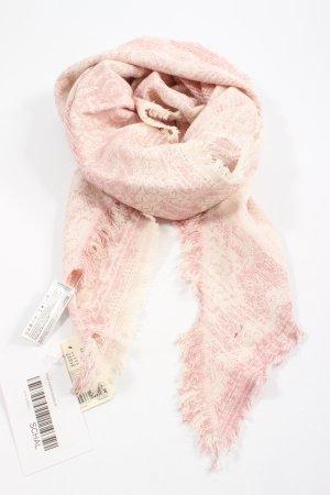 Esprit Shemagh rose-crème motif abstrait style décontracté