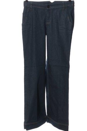 Esprit Pantalone palazzo blu stile casual