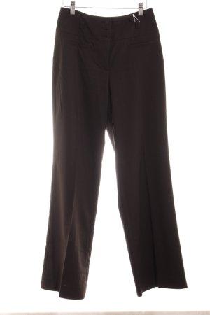 Esprit Pantalone palazzo marrone scuro stile casual
