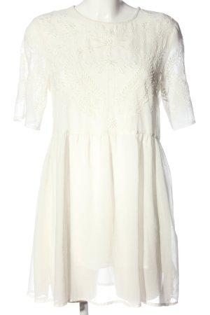 Esprit Sukienka z halką biały W stylu casual
