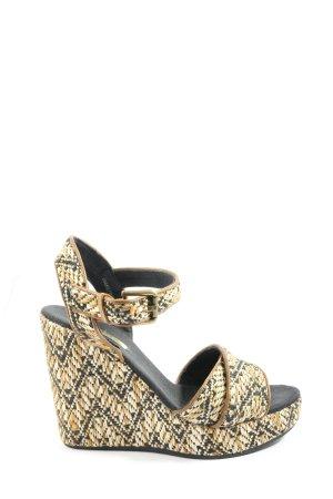 Esprit Sandały na platformie Na całej powierzchni W stylu casual