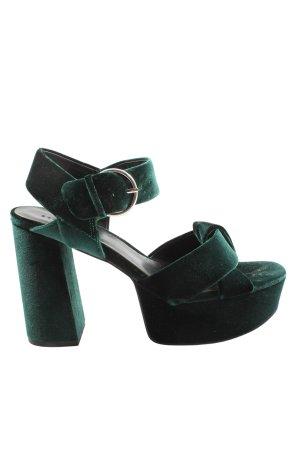 Esprit Platform High-Heeled Sandal black elegant
