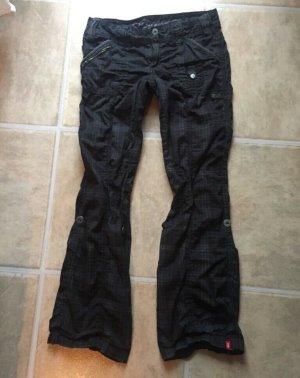 Esprit Cargo Pants black-dark violet