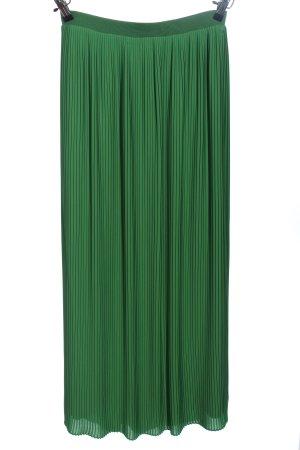 Esprit Plisseerock grün Casual-Look