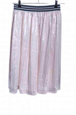 Esprit Pleated Skirt pink casual look
