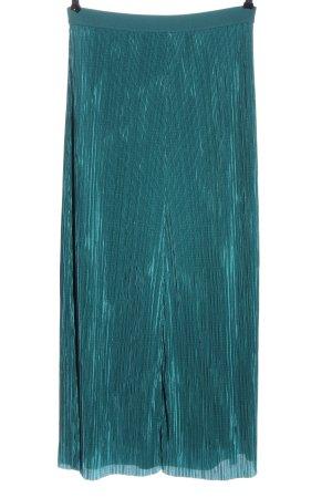 Esprit Pleated Skirt blue casual look
