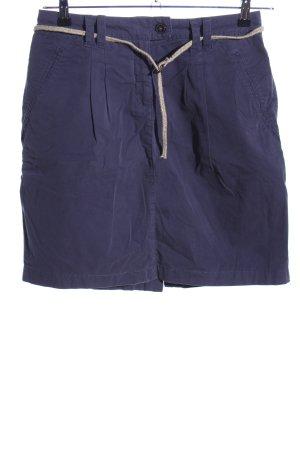 Esprit Geplooide rok blauw casual uitstraling