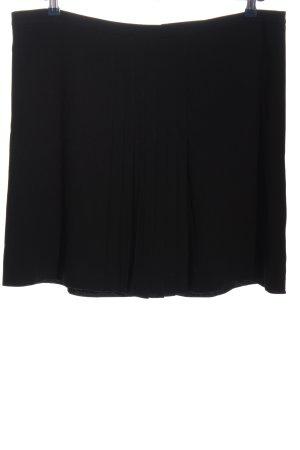 Esprit Geplooide rok zwart casual uitstraling