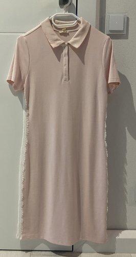 Esprit Polo Kleid mit Spitze Gr. M rose nude