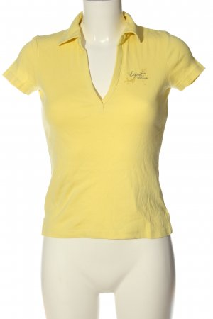 Esprit Polo-Shirt blassgelb Casual-Look