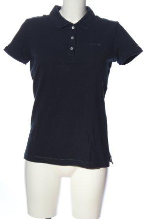 Esprit Koszulka polo czarny W stylu casual