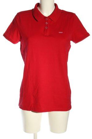 Esprit Polo rosso stile casual