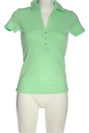 Esprit Koszulka polo zielony W stylu casual
