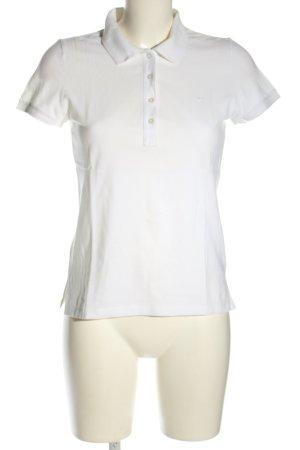 Esprit Koszulka polo biały W stylu casual