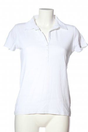 Esprit Polo shirt wit casual uitstraling